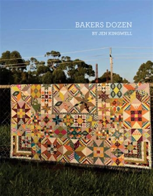 Baker's Dozen Quilt Pattern from Jen Kingwell