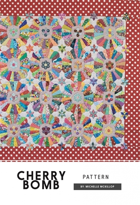 Cherry Bomb Quilt Pattern from Jen Kingwell