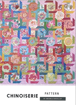 Chinoiserie Quilt Pattern from Jen Kingwell