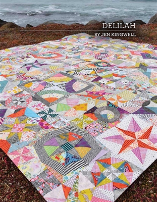Delilah Acrylic Template Set from Jen Kingwell
