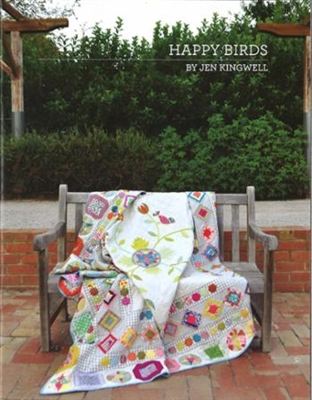 Happy Birds Quilt Pattern from Jen Kingwell