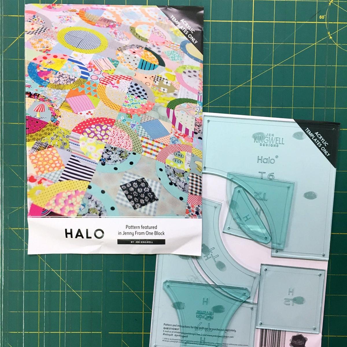 Jenny from One Block Jen Kingwell Designs Pattern Booklet