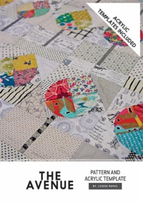 The Avenue Quilt Pattern with Templates