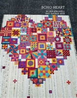 BOHO HEART Quilt Pattern booklet by Jen Kingwell