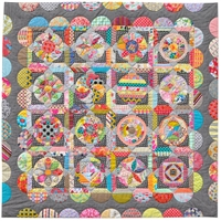 The Circle Game Quilt Pattern Booklet by Jen Kingwell