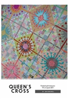 Queen's Cross Quilt Pattern with Templates by Jen Kingwell