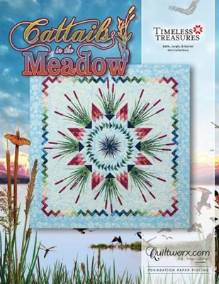 Cattails in the Meadow Quilt Pattern by Judy Niemeyer