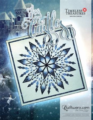 Ice Castles Quilt Pattern by Judy Niemeyer