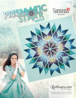 Prismatic Star Queen Pattern by Judy Niemeyer