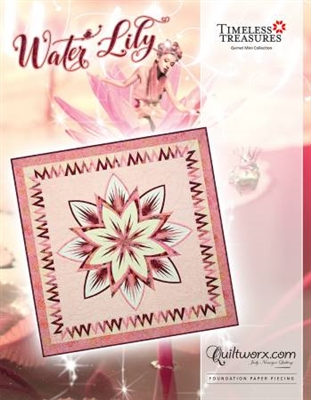 Water Lily Quilt Pattern by Judy Niemeyer