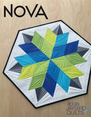 Nova Table Topper by Jaybird Quilts