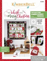 We Whisk You A Merry Christmas Machine Embroidery CD