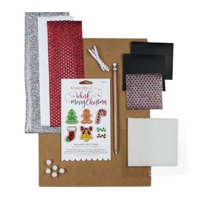 Kimberbell We Whisk You a Merry Christmas Embellishment Kit