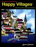 Happy Villages Quilt Book by Karen Eckmeier- 2nd Edition