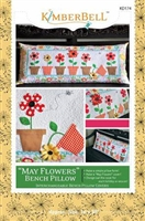 May Flowers Bench Pillow from Kimberbell