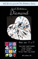 April Birthstone Diamond Pattern Birthstone Series