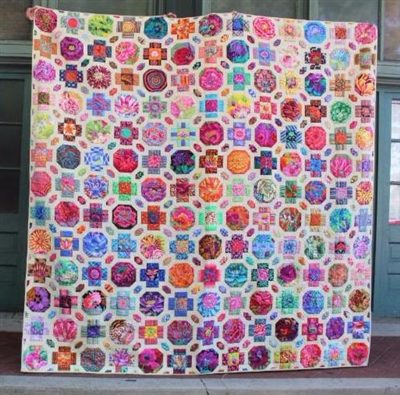 Salute to Leven's Hall Quilt Pattern from Kim McLean