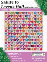 Salute to Leven's Hall Quilt Paper Piecing Packet