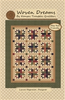 Woven Dreams Quilt Pattern by Kansas Trouble Quilts