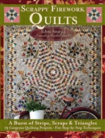 Scrappy Fireworks Quilts from Edyta Sitar