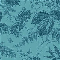 Evergreen in Aegean Blue by Edyta Sitar, Laundry Basket Quilts