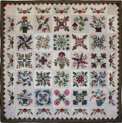 Applique Affair Quilt Pattern by Edyta Sitar -Laundry Basket Quilts