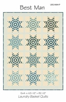Best Man Quilt Pattern by Edyta Sitar