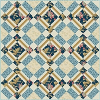 Bird Cage Quilt & Table Runner Pattern-Edyta Sitar