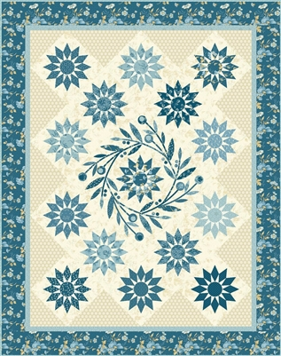 Blooming Star Quilt Pattern by Edyta Sitar of Laundry Basket Quilts