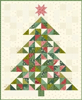 Christmas Tree Quilt Pattern-Laundry Basket Quilts Edyta Sitar