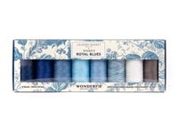 Diana's Royal Blues Thread Set by Edyta Sitar of Laundry Basket Quilts