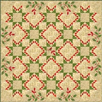 Joy Quilt Pattern by Edyta Sitar of Laundry Basket Quilts