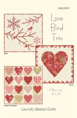 Love Bird Trio Quilt Pattern by Edyta Sitar