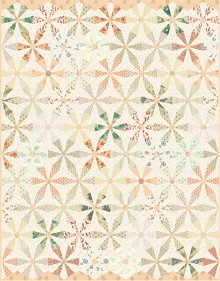 Secret Stash Miss Daisy Quilt Pattern by Laundry Basket Quilts