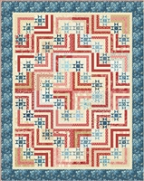 Perfect Union Quilt Pattern by Edyta Sitar of Laundry Basket Quilts