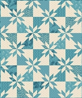 Sky and Sea Quilt Pattern by Edyta Sitar, Laundry Basket Quilts 813-P