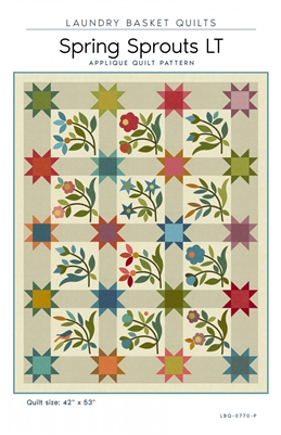 Spring Sprouts LT Quilt Pattern by Edyta Sitar