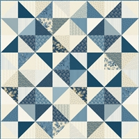 Stargazer Quilt Top Kit by Edyta Sitar of Laundry Basket Quilts