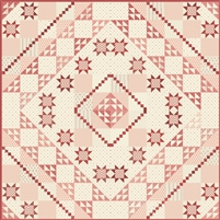 Sweet Pea Quilt Pattern by Edyta Sitar of Laundry Basket Quilts