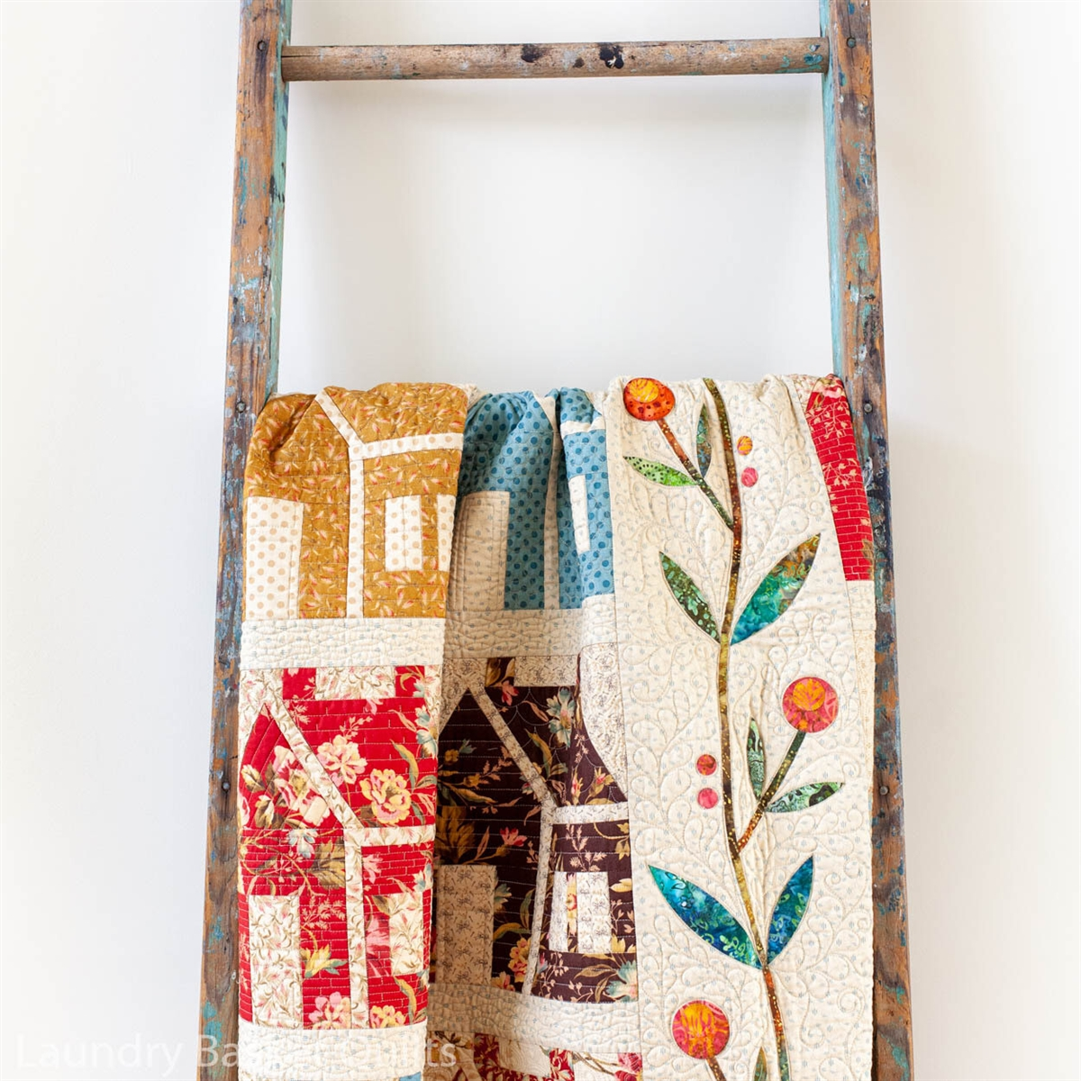 Homestead House Quilt pattern by Edyta Sitar, Laundry Basket Quilts : edyta sitar quilt patterns - Adamdwight.com
