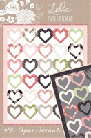 Open Heart  Quilt Pattern by Lella Boutique