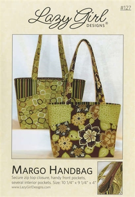 Margo Handbag Pattern by Lazy Girl Designs