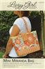 Mini-Miranda Bag Pattern by Lazy Girl Designs