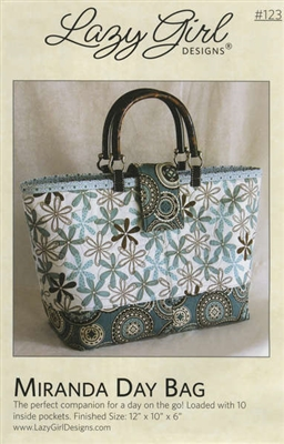 Miranda Day Bag Pattern by Lazy Girl Designs