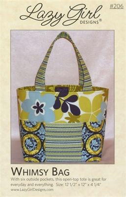 Whimsy Bag Pattern by Lazy Girl Designs