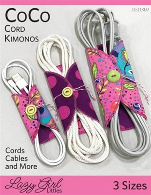 CoCo Cord Kimonos from Lazy Girl Designs