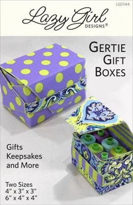Gertie Gift Boxes from Lazy Girl Designs