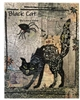 Black Cat Collage Quilt Pattern by Laura Heine