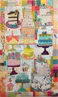 Cake Mix Collage Quilt Pattern by Laura Heine