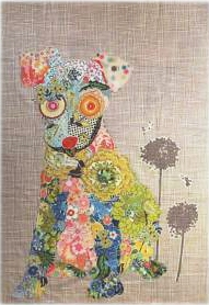 Emerson Puppy Collage Quilt Pattern